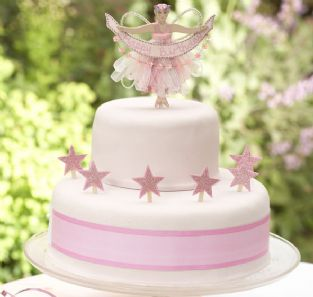 So Prettywhat Little Girl Could Resist This Beautiful Hand Crafted Fairy With Magical Glittering Starsits The Perfect Birthday Cake Decoration