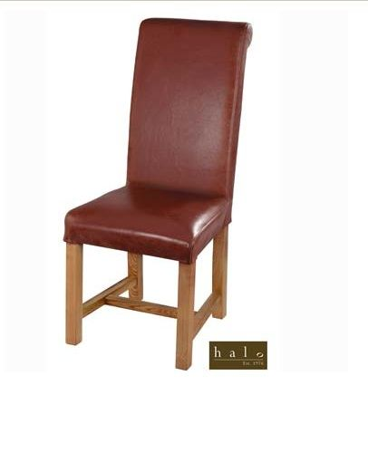 Halo Rollback Dining Chair Leather